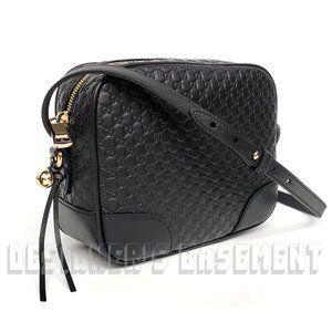 GUCCI Guccissima leather BREE Camera Crossbody Bag
